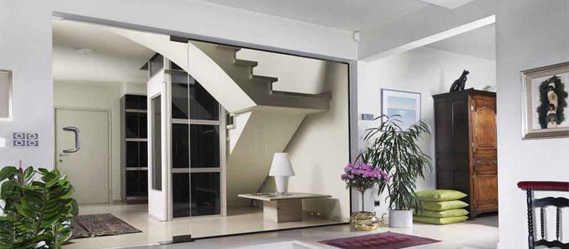 ascenseur pour logement. Black Bedroom Furniture Sets. Home Design Ideas